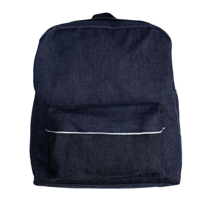Samurai Jeans SJDB19-01 25oz. Selvedge Denim Backpack - Okayama Denim Accessories - Selvedge