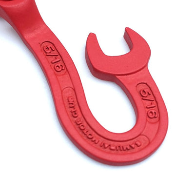Samurai Jeans Wrench Keyhook (Red) - Okayama Denim Accessories - Selvedge
