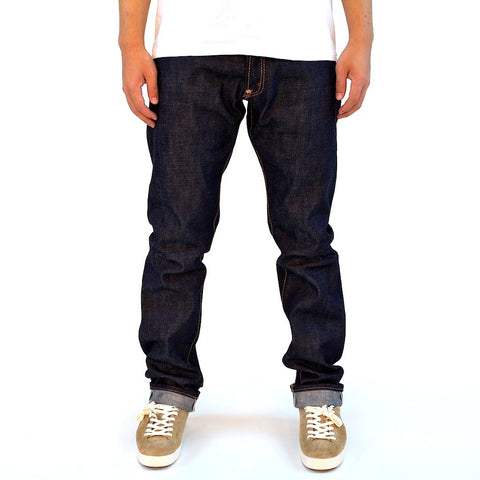 Senio Se-028 Gold Stitch Raw (Slim Straight)