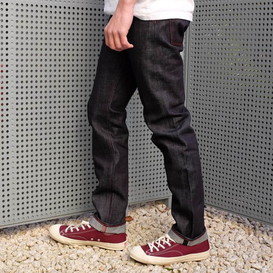 Senio Se-032 Red Stitch (Slim Tapered) - Okayama Denim Jeans - Selvedge