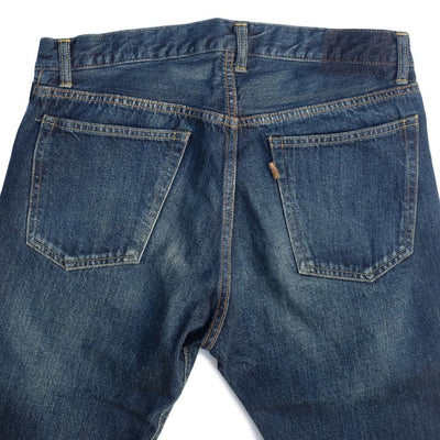 Soulive BLX-0505 DK Distressed Selvedge Jeans (Middle Straight)