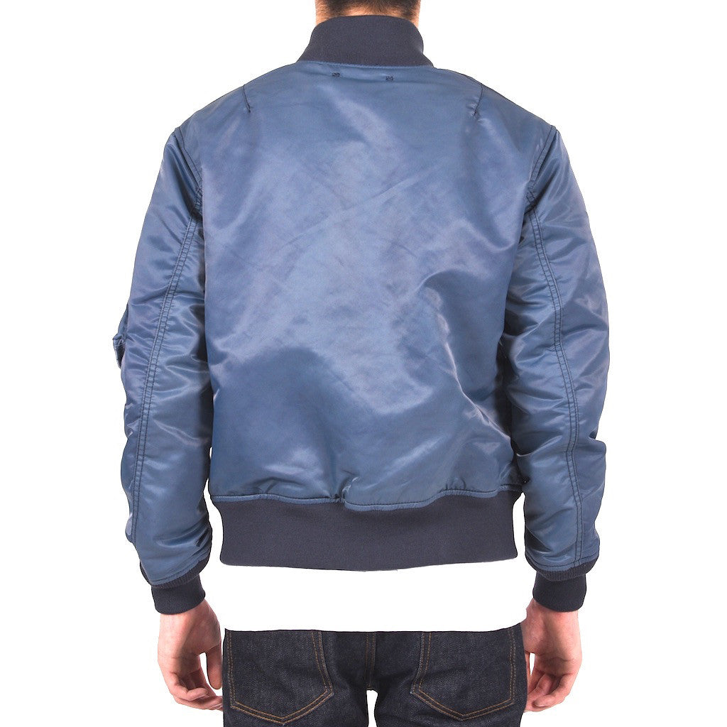 Soulive Indigo Dyed MA-1 Flight Jacket