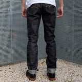 Studio D'Artisan D1729 'Crazy' Selvedge Denim Jeans (Slim Tapered)