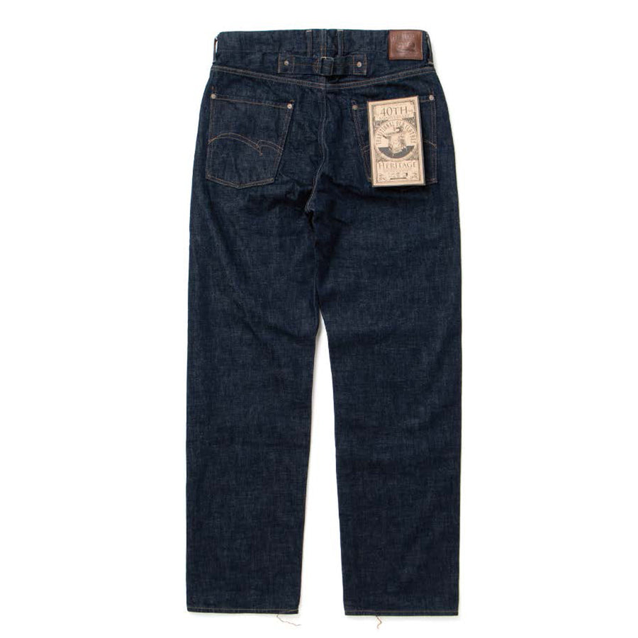 [Pre-Order] Studio D'Artisan 13oz. 40th Anniversary Heritage Jeans (Regular Straight)