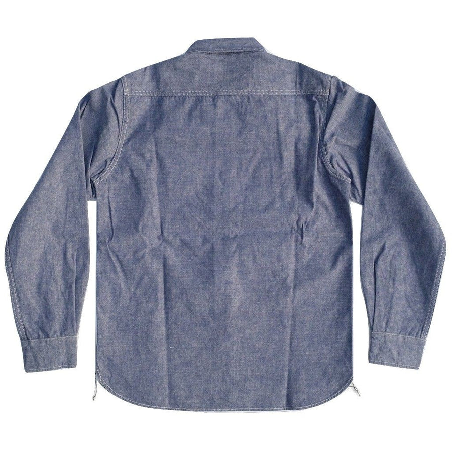 Studio D'Artisan Selvedge Chambray Work Shirt