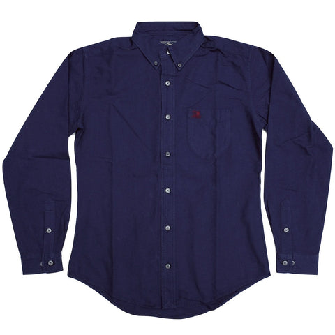 Studio D'Artisan Indigo Dyed Oxford Shirt