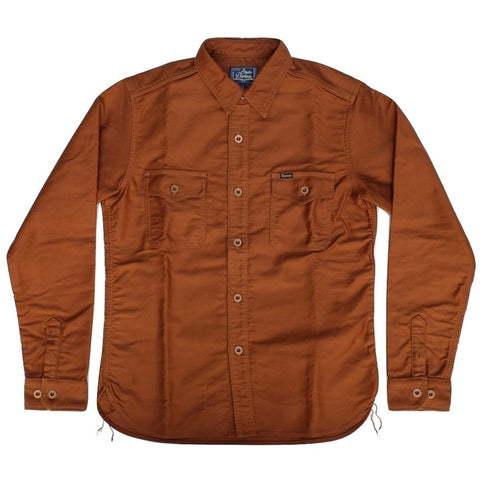 Studio D'Artisan Moleskin Shirt (Brown)