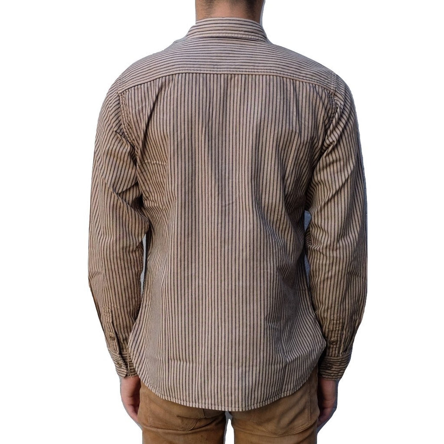 Studio D'Artisan Hickory Railroad Work Shirt