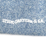 Studio D'Artisan Heather Middle Socks (Blue)