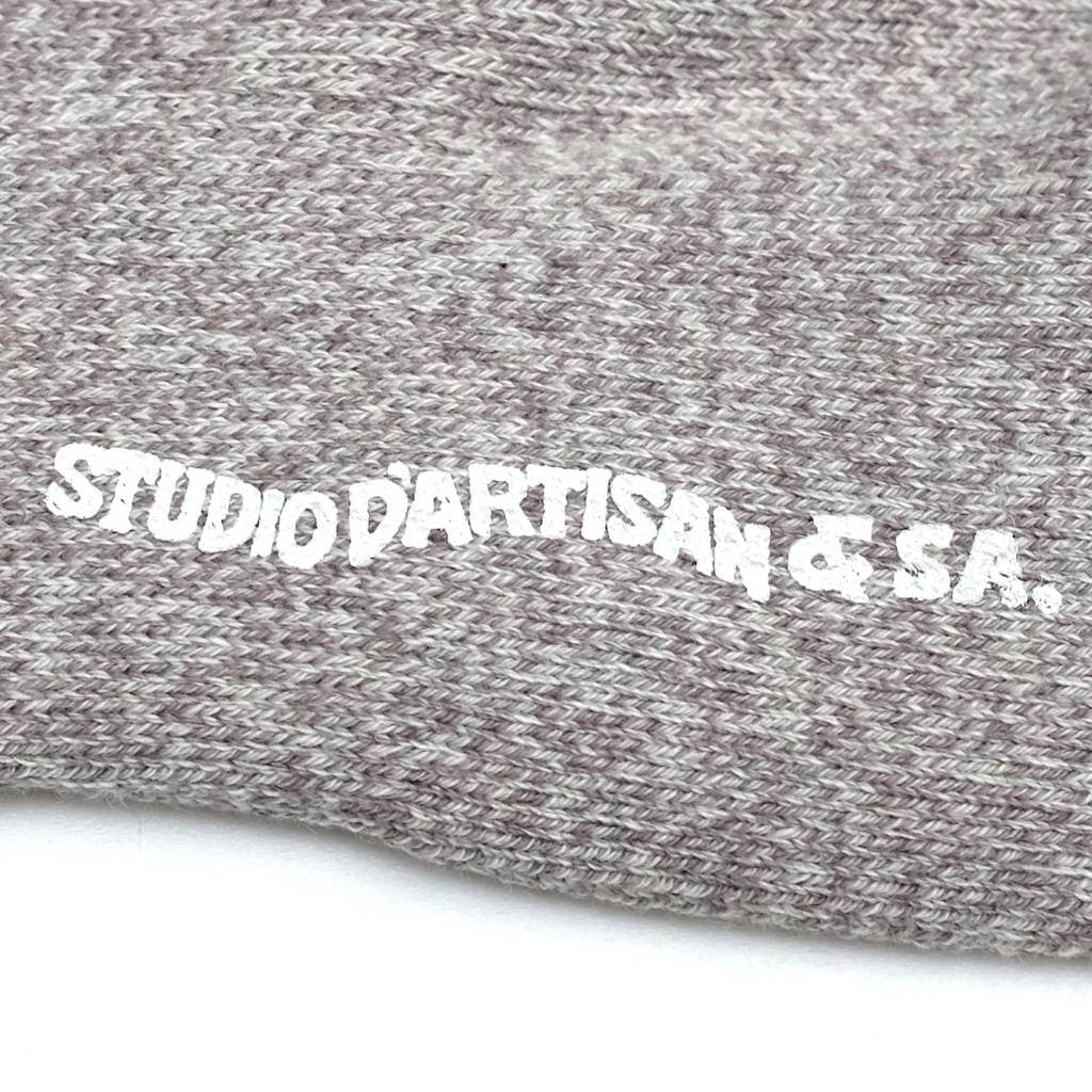 Studio D'Artisan Heather Ankle Socks (Light Gray)