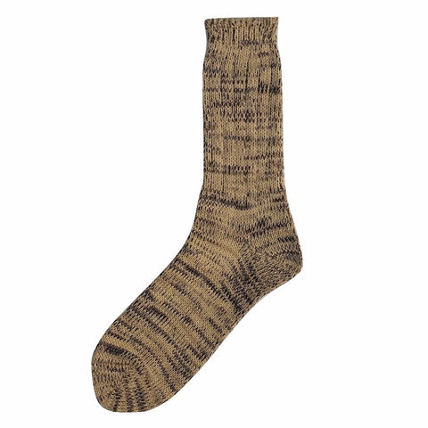 Studio D'Artisan Knitted Mixed Long Socks (Beige)