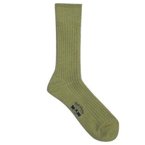 Studio D'Artisan Knitted Long Socks (Light Green)