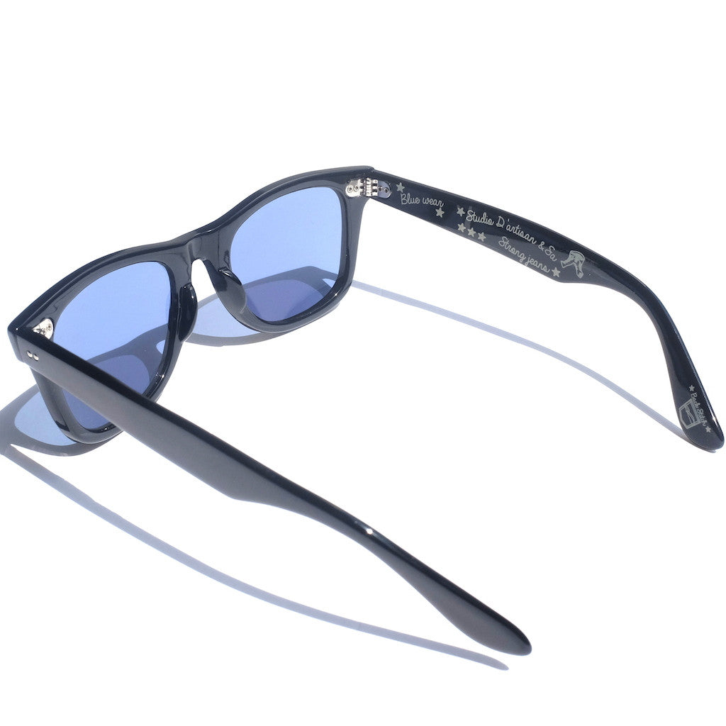 Studio D'Artisan Blue Smoke Sunglasses