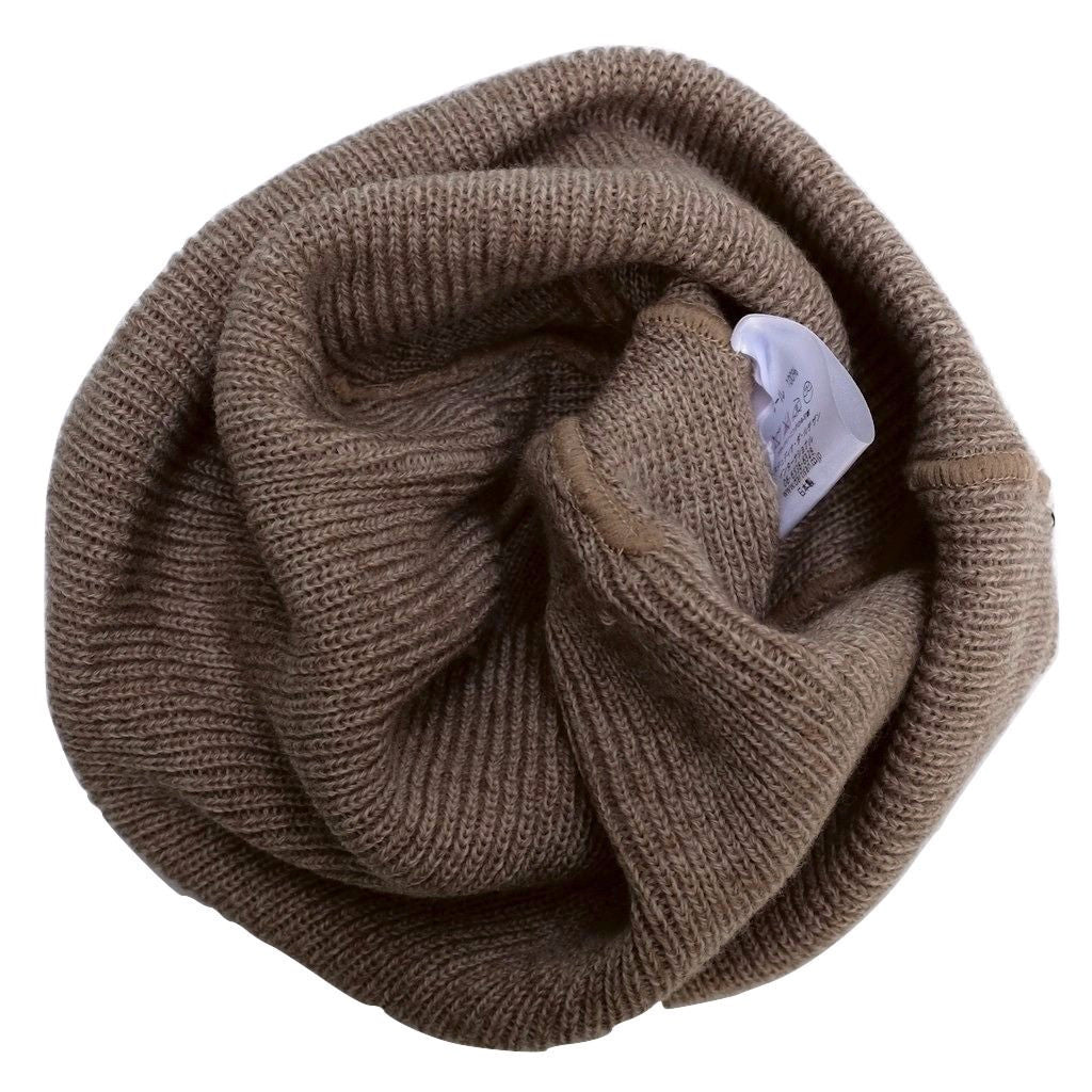 Studio D'Artisan Knitted Watch Cap (Beige)