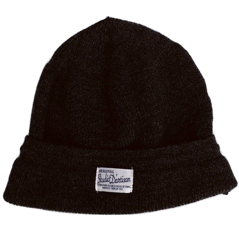 Studio D'Artisan Knitted Watch Cap (Black)