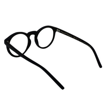 Studio D'Artisan Eyeglasses (Black) - Okayama Denim Accessories - Selvedge