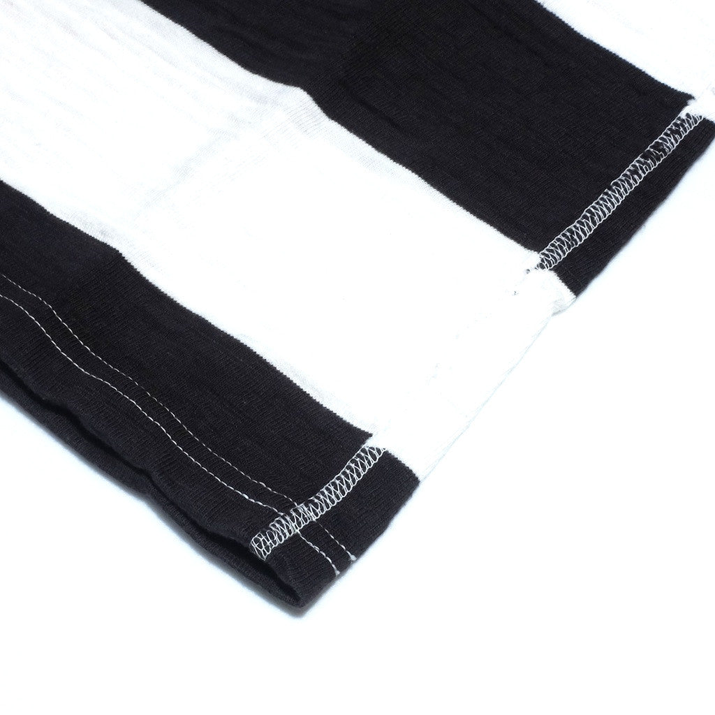 Studio D'Artisan 9796 Loopwheel Border Tee (Black)