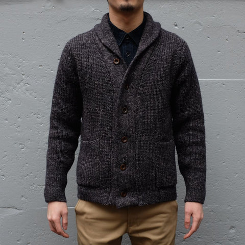 Studio D'Artisan Heavyweight Wool Shawl Cardigan