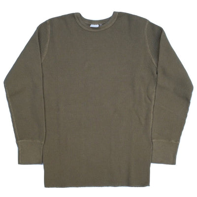 Studio D'Artisan L/S Heavy Thermal Tee (Khaki)