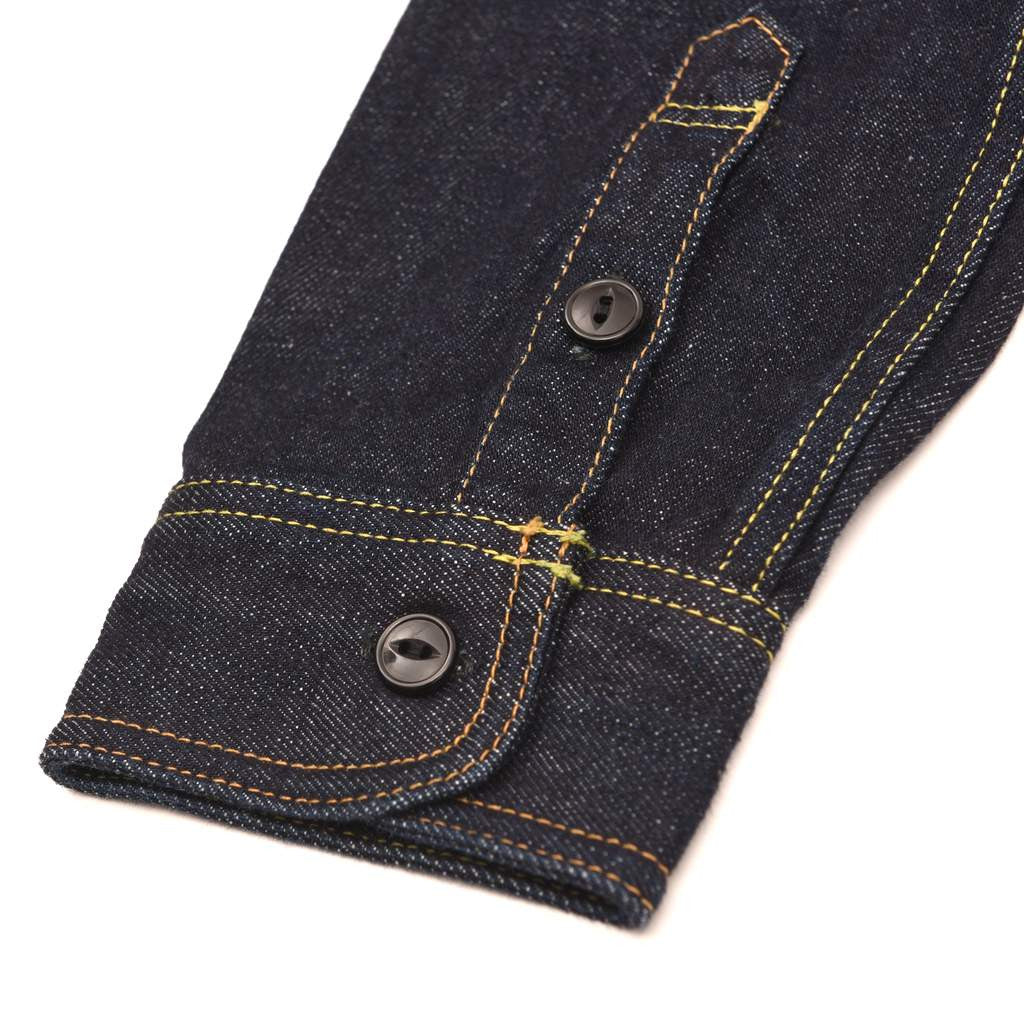 Studio D'Artisan 14oz. Selvedge Denim Work Shirt