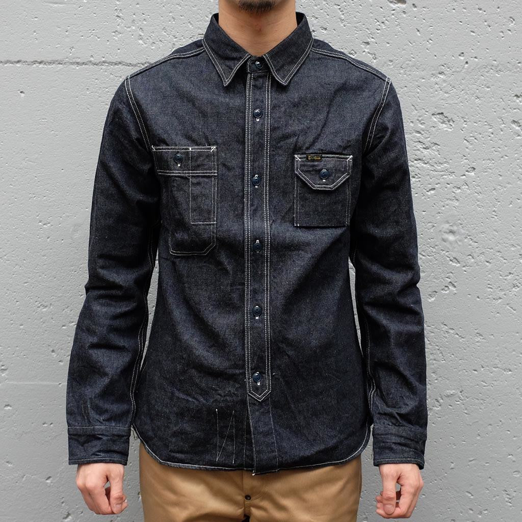 Studio D'Artisan 11oz.  Selvedge Denim Work Shirt