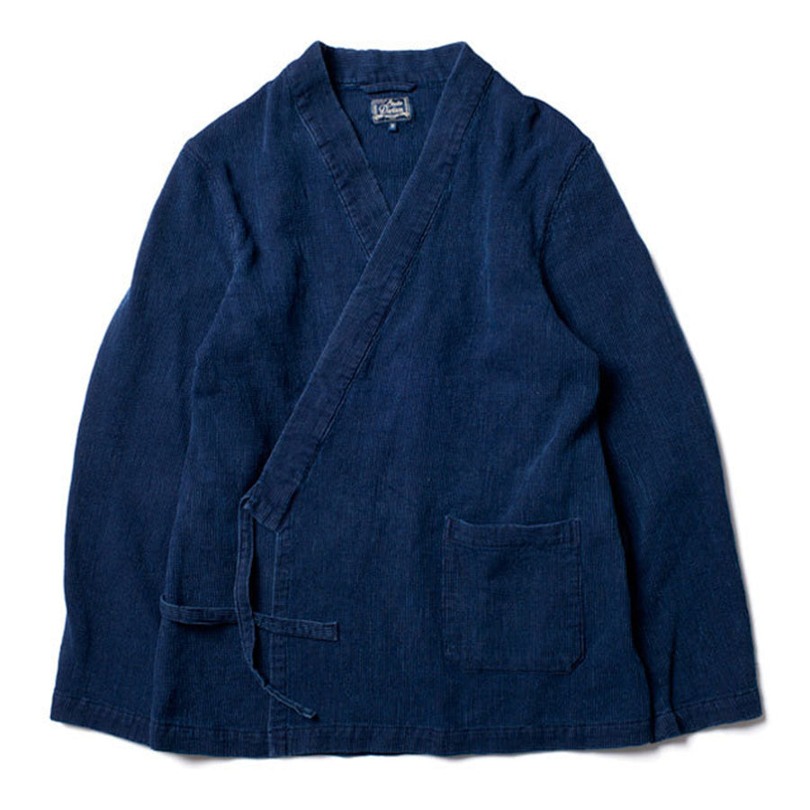 [Pre-Order] Studio D'Artisan 4478U Distressed Indigo Dobby Cloth Samuei Jacket