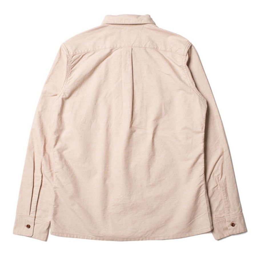 [Pre-Order] Studio D'Artisan FOX-008 Foxfibre® Organic Oxford Shirt (Brown)