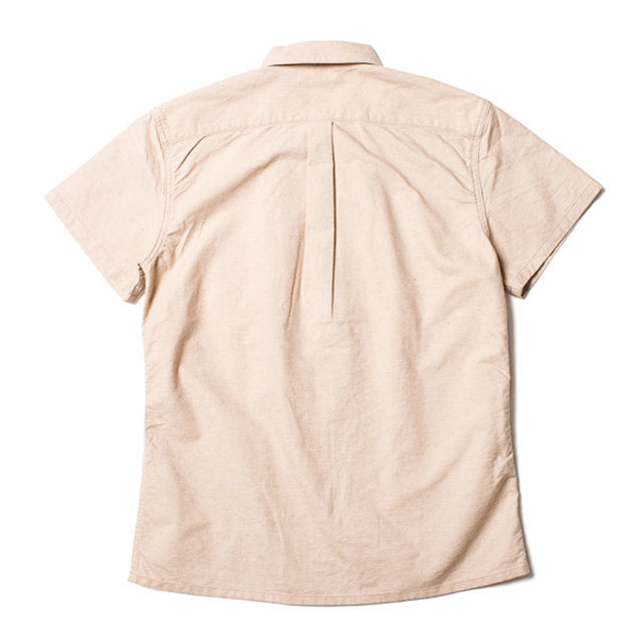 [Pre-Order] Studio D'Artisan FOX-009 Foxfibre® Organic S/S Oxford Shirt (Brown)