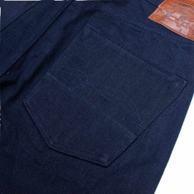 Studio D'Artisan G-004 'G3' Deep Indigo Selvedge Jeans (Slim Tapered)