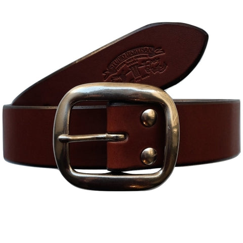 Studio D'Artisan B-81 Leather Belt (Brown)