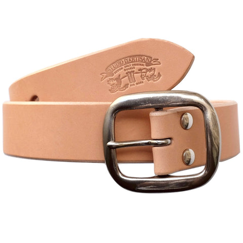 Studio D'Artisan B-81 Leather Belt (Natural)