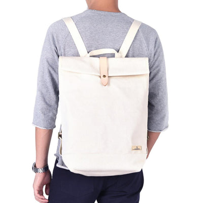 Japan Blue Canvas Rucksack - Okayama Denim Accessories - Selvedge
