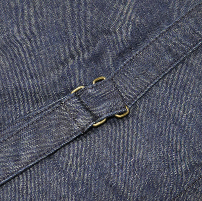 Japan Blue 10.5oz. Denim Urban Vest - Okayama Denim Jacket - Selvedge