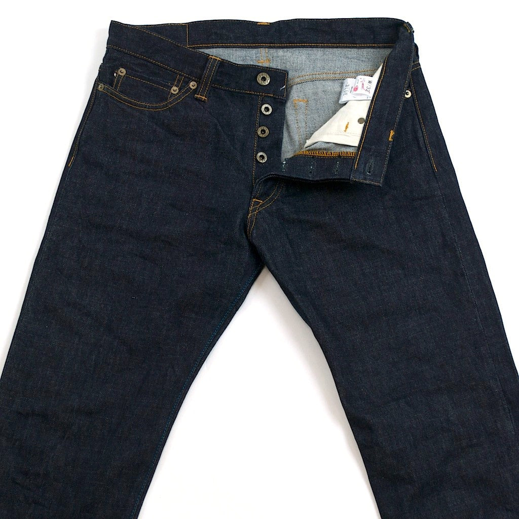 Japan Blue JB0701 (Slim Straight) - Okayama Denim Jeans - Selvedge