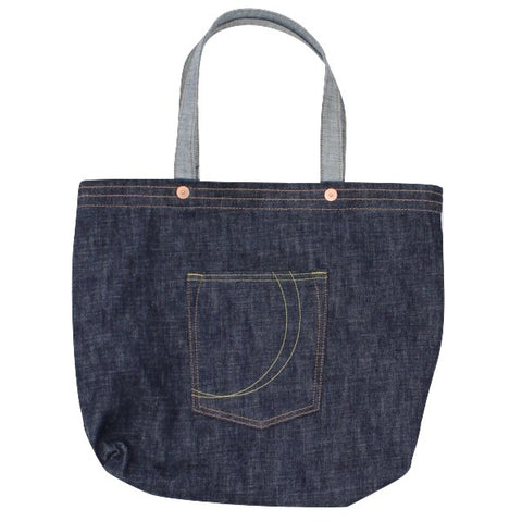 Momotaro Copper Label Denim Tote Bag