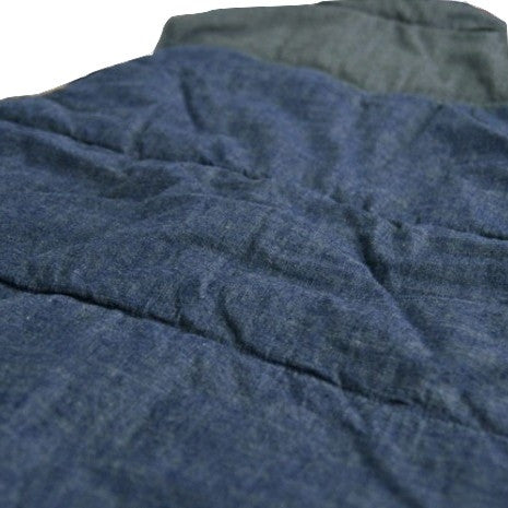 Momotaro Chambray Military Vest