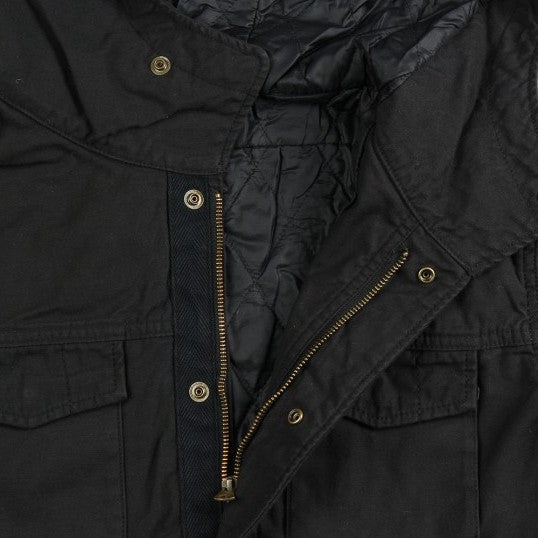Momotaro M-65 Field Jacket (Black)