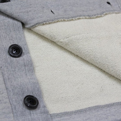 Momotaro 03-056 Heavyweight Cardigan (Gray)