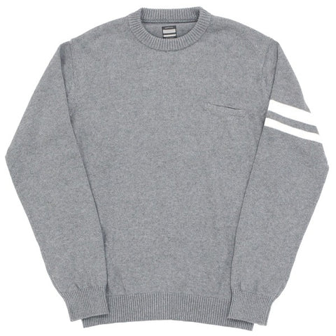 Momotaro GTB Cotton Sweater (Gray)