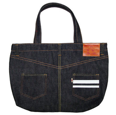 Momotaro GTB Denim Tote Bag