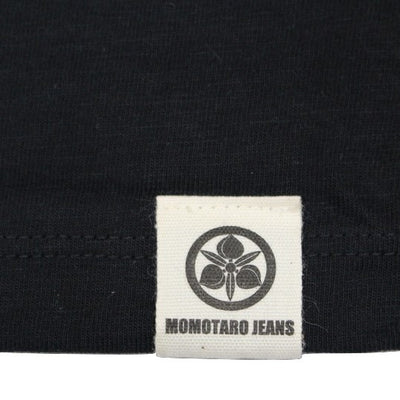 Momotaro GTB Denim Pocket Tee (Black)