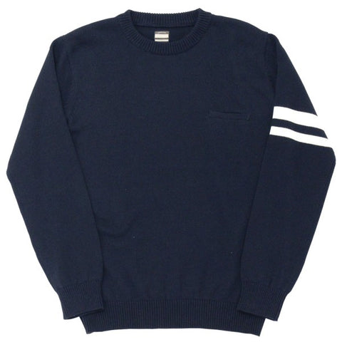 Momotaro GTB Cotton Sweater (Navy)