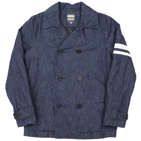 Momotaro 03-046 10oz. Denim Peacoat