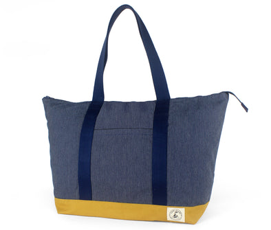Elmhurst Weekender: Denim Stitch
