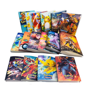 240pcs holder album toys for Novelty gift Pokemon Cards Book Album Book Top loaded List playing cards