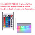 RGB Light For Kicthen Lamp 1M 2M 3M 4M 5M Waterproof Led Lights for Cupboard Wardrobe Cabinet Decoration Night Lamp LED Diode