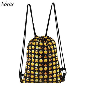 Drawstring Bag Fashion Animal Printed