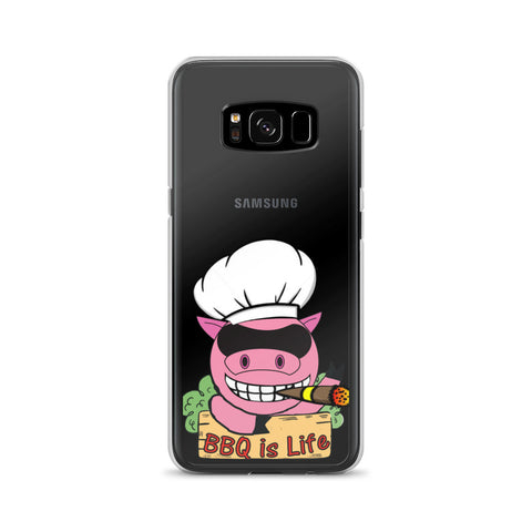 BBQ is Life Logo Samsung Phone Case