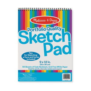 Quality Spiral Bound Sketch Pad