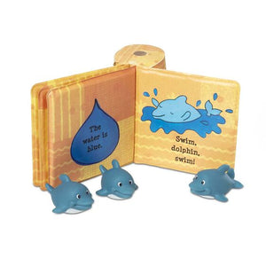Float-Along Baby Dolphins Tub Book